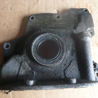 крышка двигателя передняя