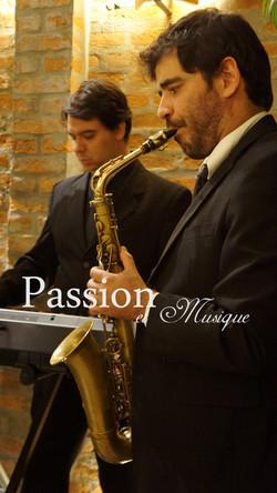 Duo Sax com Teclado