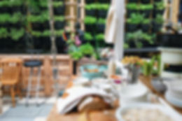 Outdoor Garden Buffet