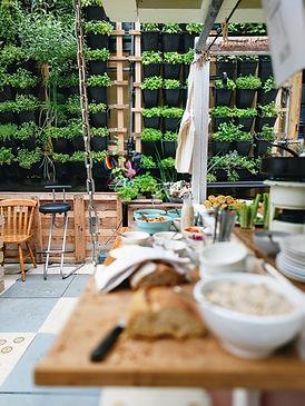 Udendørs Garden Buffet