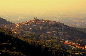 Souldreams Enrico Petrangeli fotografo, Rocca Priora dall'alto