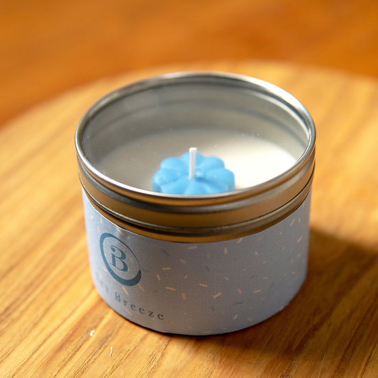 Sea Breeze Tin Candle