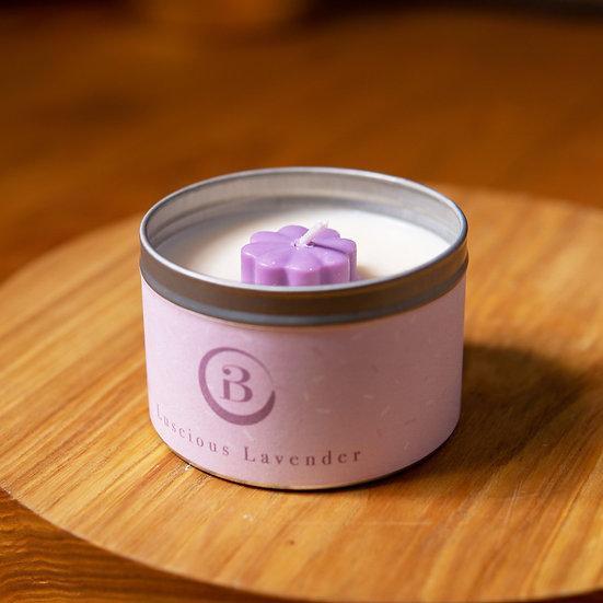 Luscious Lavender Tin Candle