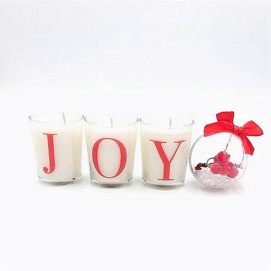 Joy Candle Set