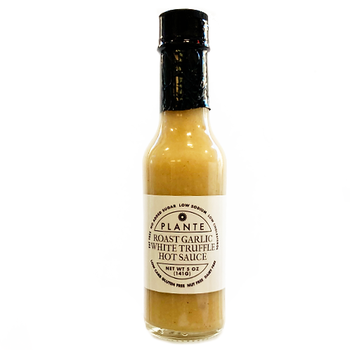 Roast Garlic White Truffle Hot Sauce 5 oz