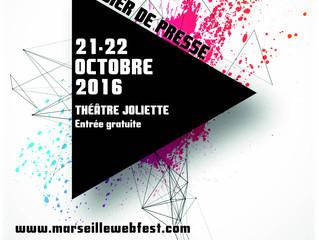 Relations Presse : Le Marseille Web Fest