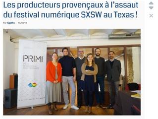 Relations Presse : Organisation du Petit déjeuner Presse pour le départ à Austin au SXSW d'une d
