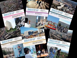 La programmation 2015 - 2020 des projets de territoire de Marseille en plaquettes