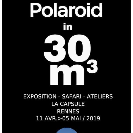 Expolaroid à la galerie la Capsule !