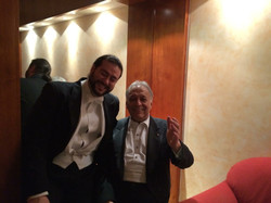 With Zubin Mehta
