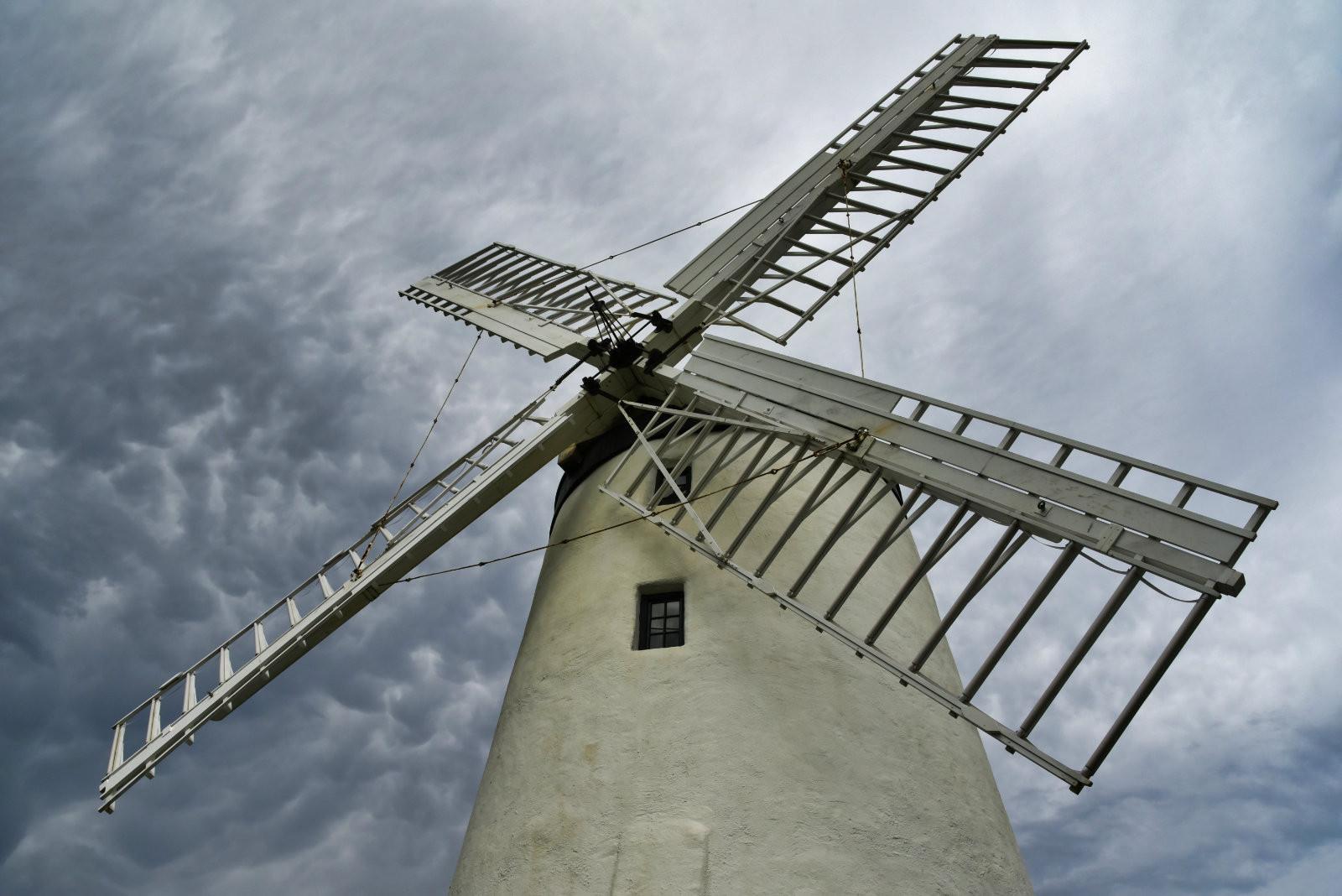 'Ballycopeland Windmill' by Stephen Blayney (8 marks)  -  Belfast Photo Imaging Club