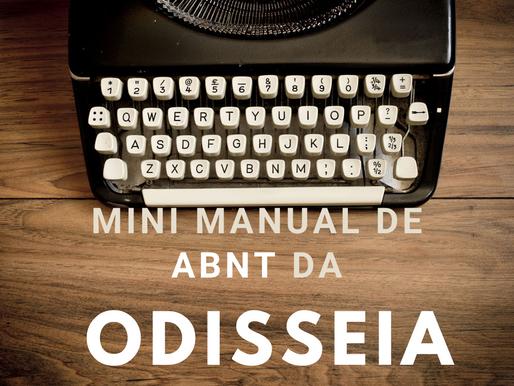 Mini manual de ABNT da Odisseia
