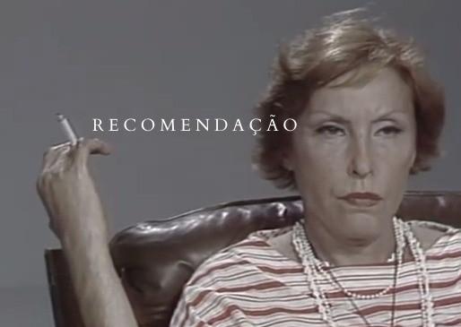 """RECOMENDAÇÃO: """"Panorama"""", o único registro audiovisual de Clarice Lispector."""