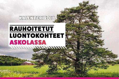 Kalenteri 2018, Rauhoitetut luontokohteet Askolassa