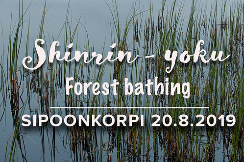 Ticket: Forest bathing in the Sipoonkorpi National Park