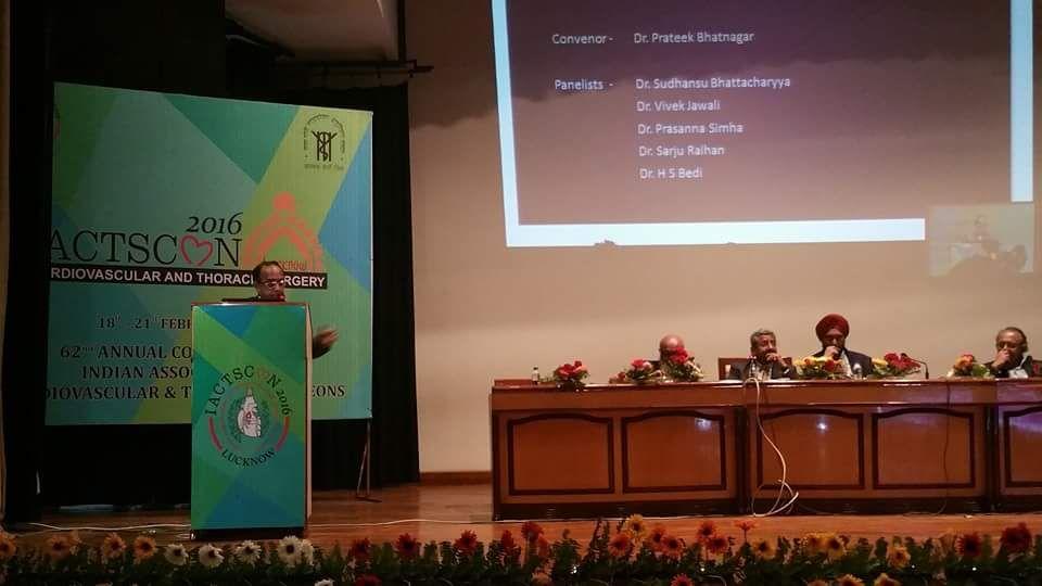 dr bhatnagar at workshop