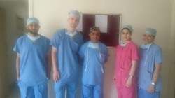 Dr bhatanagar with young Doctors from England