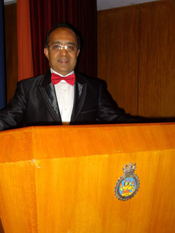 Bhatnagar in conference