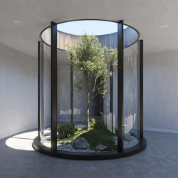 Courtyard - concept design