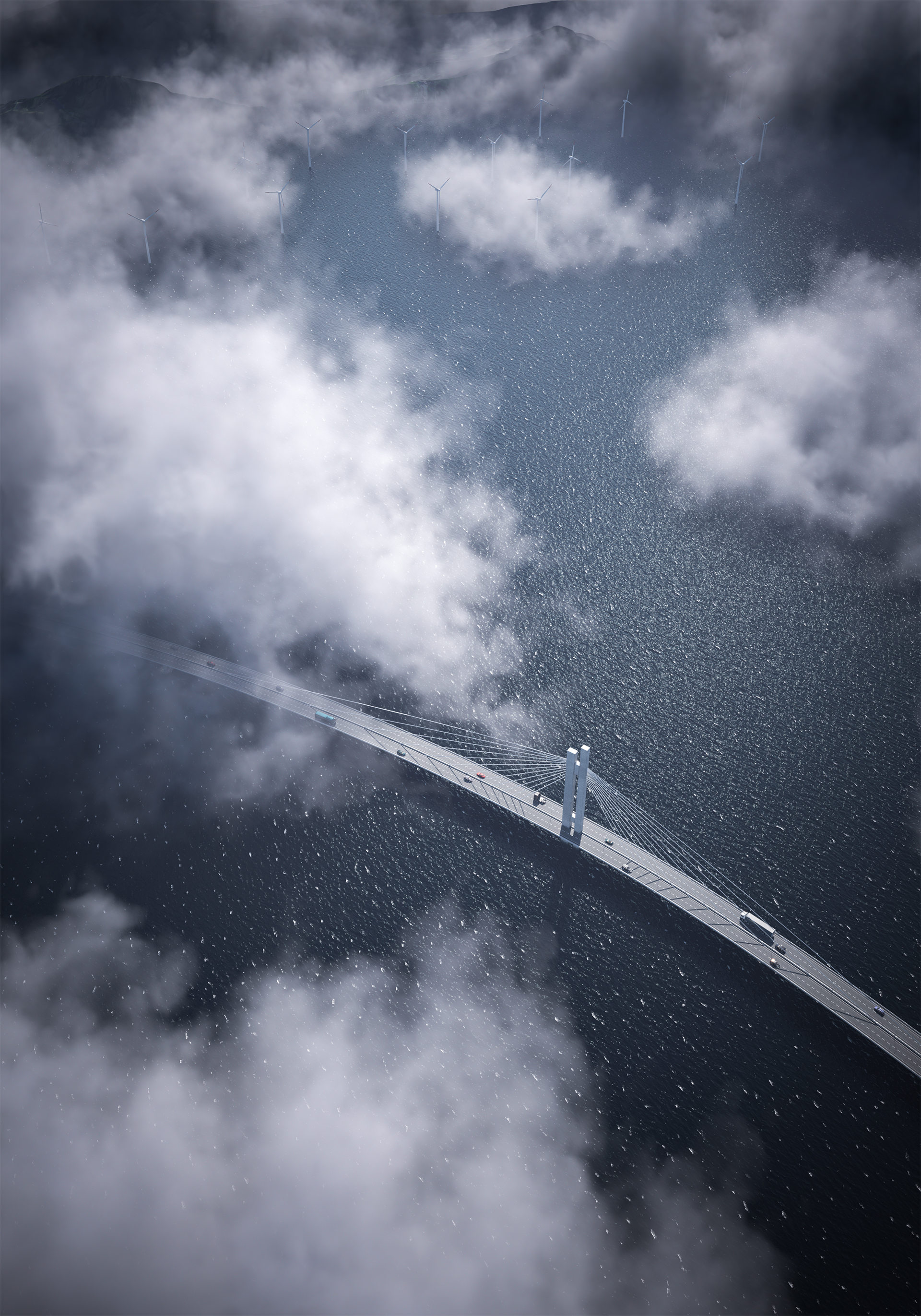On the Water Bridge - concept design