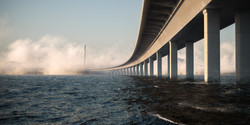On the Water Bridge - concept design