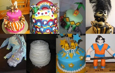 fondant creations by our customers