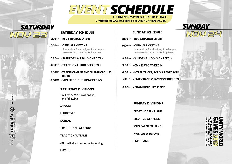 unity 7 event schedule separate v1 31081