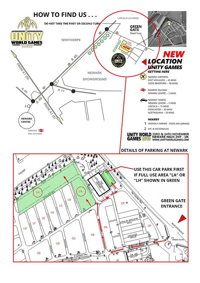 unity 7 new venue map a4 PORT INC DETAIL