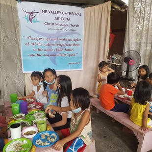Ministry to children.  Our partner churches help children grow in all areas of life.