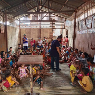 The Bajau community in Iligan receive help and hope  in this time of global crisis.