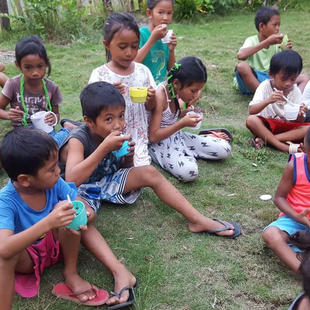 Children living in struggling communities are cared for by our partner churches in many part s of the Philippines.