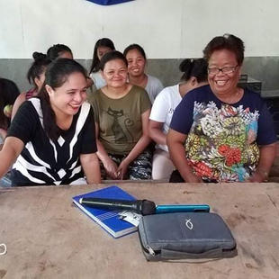 Tribal church leaders from Agusan del Sur attend an online Bible training via Zoom.