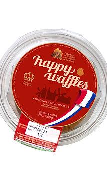 Stroopwafel Cobertura de Chocolate, Pote, 200 gramas