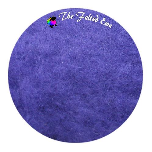 FB59 African Violet Maori Wool Batt
