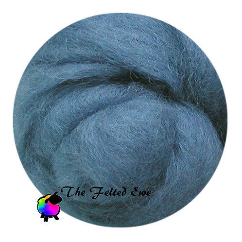 DR34 Wedgewood Blue Wool Roving