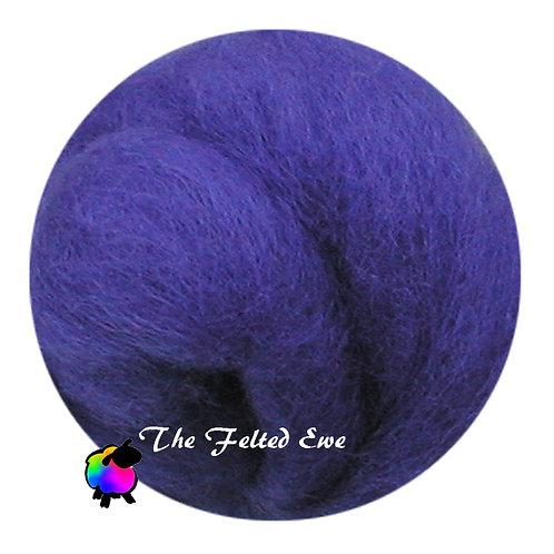 DR24 Vivacious Violets Wool Roving