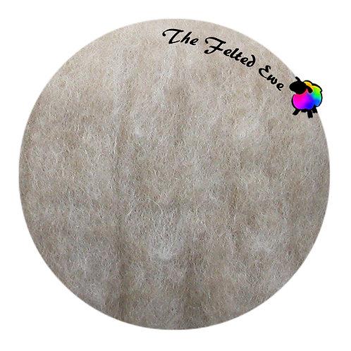 HFB21 Fawn Heathered Wool Fluffy Batt