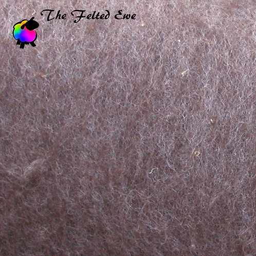 Natural Brown Core Wool Batt