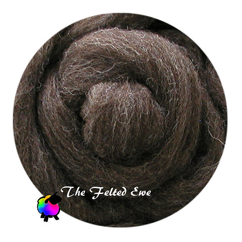 NR3 Coffee Bean Carded Wool Roving