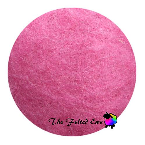 DR17 Rosy Cheeks Carded Wool Batt