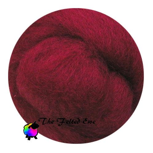 DR18 Rubies Rare Wool Roving