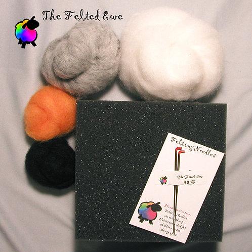 Duck & Owl Needle Felting Kit