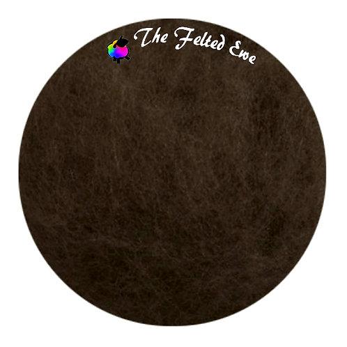 FB75 Cocoa Bean Maori Wool Batt