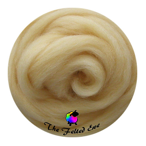 ES16 Corn Silk Wool Sliver