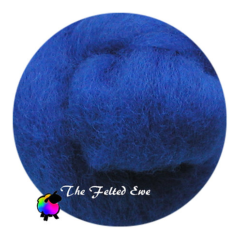 DR30 Blue Bicycle Wool Roving