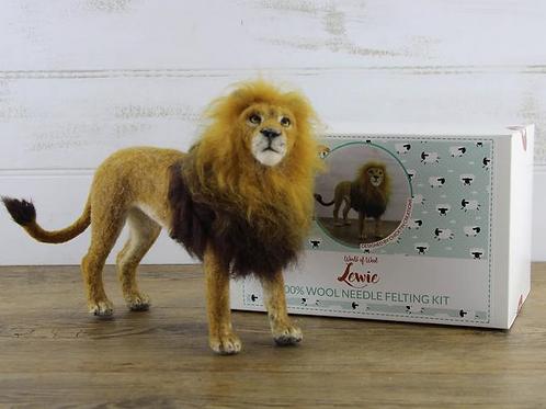 Lewie the Lion Needle Felting Kit