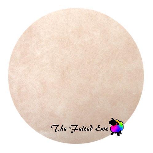 DR11 Peaches n' Cream Carded Wool Batt