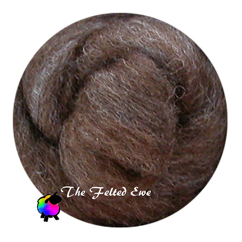 NR14 Moxy Mink Carded Wool Roving