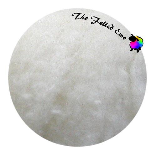HFB1 Snowflake Heathered Wool Fluffy Batt