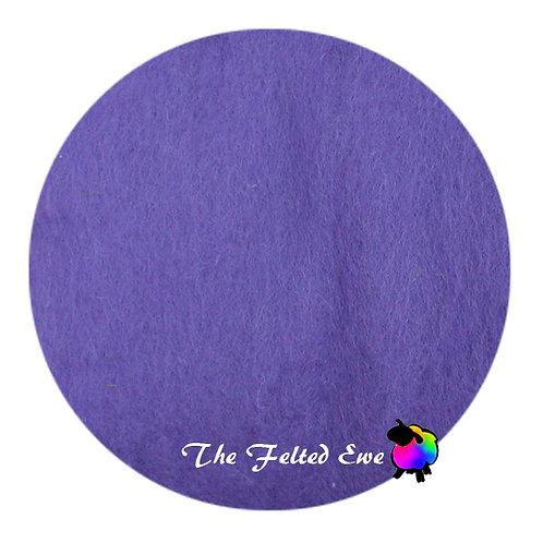 CB18 Princess Purple Wool Batt